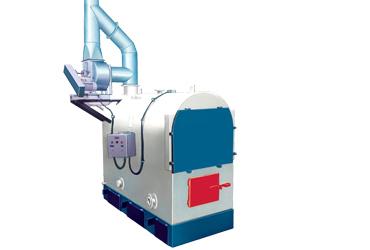 Caldeira de Aquecimento Direto Compacta a Lenha CAD CL