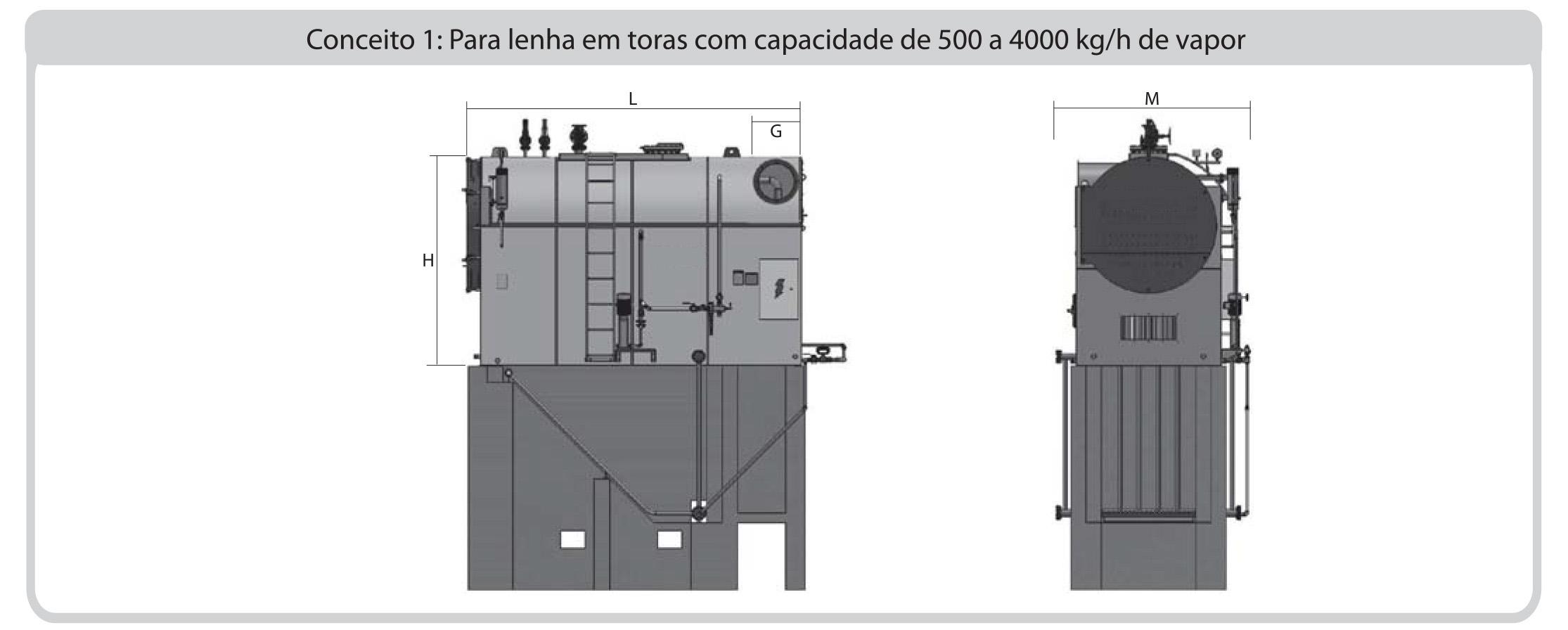 Dimensionamento 01 CVS-IL Icaterm