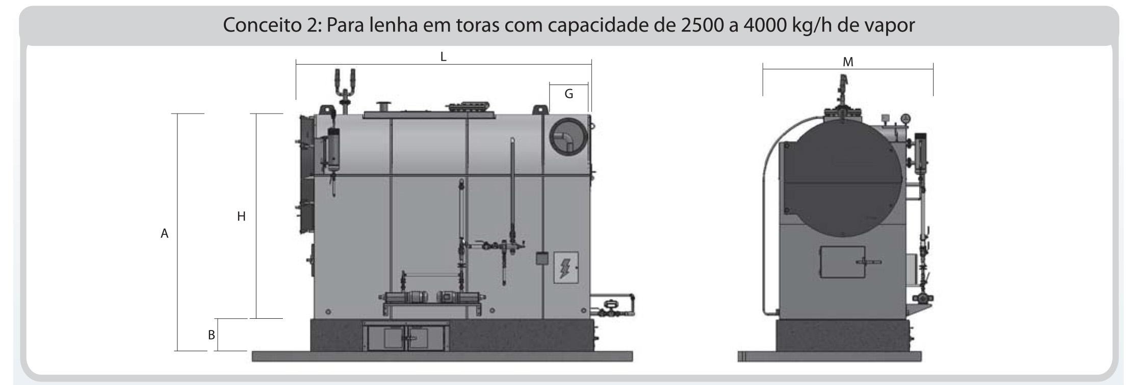 Dimensionamento 02 CVS-IL Icaterm