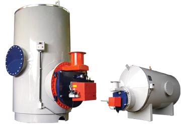 Geradora de Água Quente Pressurizada Horizontal ou Vertical GAQ HP