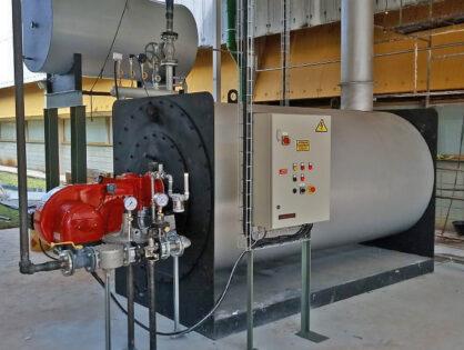 Como funciona um gerador de vapor?