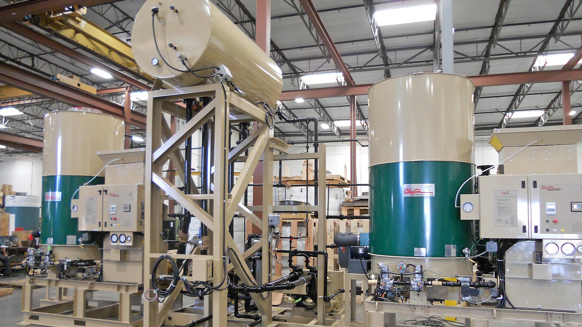 Como funciona o gerador de vapor SigmaFire Clayton?